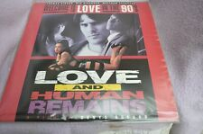 LOVE AND HUMAN REMAINS film by Denys Arcand  EUROPE POSTAGE mmoetwil@hotmail.com