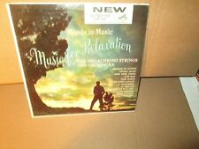 MELACHRINO STRINGS AND ORCHESTRA - MUSIC FOR RELAXATION rare LP Vinyl