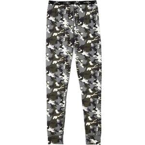 Terramar Thermolator II Midweight Long Underwear Bottoms Size S Kids Camo Pants