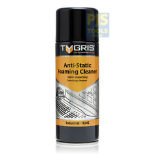 Tygris R245 400ml aerosol anti static foaming computer keyboard & screen cleaner