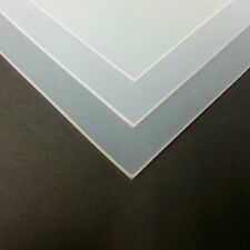PLATINUM CURED SILICONE SHEET, 0.5MM,1MM,1.5MM,2MM AND 3MMTHK, TRANS 60 SHORE