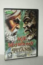 AGE OF MYTHOLOGY THE TITANS ESPANSIONE USATA PC CD ROM VERSIONE UK GD1 53168