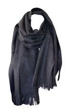Écharpes et châles foulards gris pour femme en 100% laine