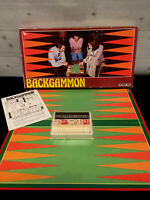 Vintage Backgammon Board Game 1970's Very Good Condition