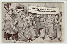 More details for my to v cechach dobudem: czechoslovakia suffragette postcard (c61241)