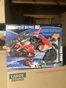 Mega Bloks Battle Bloks RC Remote Control Bulldozer 9616