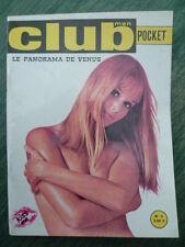 Magazine CLUB MEN pocket (le panorama de vénus) - n° 4 - 1971