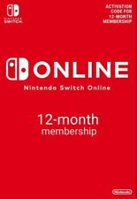 Nintendo switch online family membership (1 year) 23/10/2021