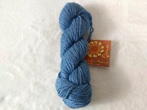 Mirasol Pina Yarn Baby Alpaca & Bamboo Peru Blue 910