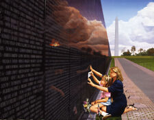 "Danny Day's ""Daddy's Girl"", S/N 656 of 2500, Vietnam Memorial Wall"