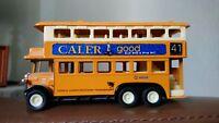 CALER DOUBLE DECKER Bus (No. 41 RENFREW)