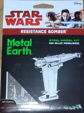 Resistance Bomber Star Wars Metal Earth 3D Laser Cut Metal Model MMS284