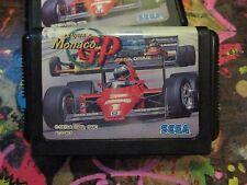 Super Monaco GP (Sega Megadrive) japanese version tested US seller