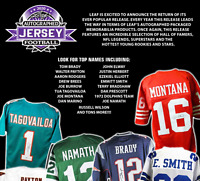 2020 Leaf Autographed Football Jersey Edition Random Team Break #2 *READ*