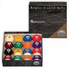 "Aramith Tournament Billiard Pool Ball set 2 1/4"""