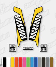 RockShox REBA 2015 2016 Style Stickers Decals - 3 Colour Designer Pack