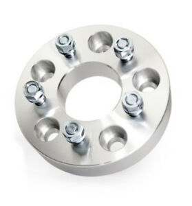 """1x 5x4.5 TO 5x4.5 WHEEL ADAPTERS SPACERS 1"""" INCH 25MM THICK 5x114.3 TO 5x114.3"""