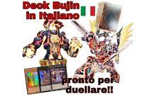 Yu-Gi-Oh! Deck BUJIN - Mazzo Completo 40 carte - ITALIANO + EXTRA DECK