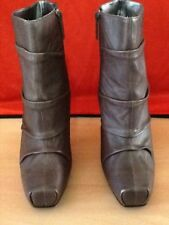 High (3 in. and Up) Leather Nine West Casual Boots for Women