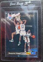 1992 93 UPPER DECK #1 SHAQUILLE O'NEAL ROOKIE CARD RC ORLANDO MAGIC HOF NM-MT+