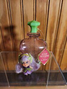 Vintage Liddle Kiddles Kologne 1967 Violet Doll in Perfume Bottle w/ Tag Mattel