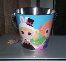 Lalaloopsy Tin Bucket Pail Easter, Beach Pail, Room Decoration Any Occassion