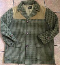 Rare Unique Men's Vintage Pendleton Wool/ Corduroy Blazer, Xl- Xxl (25�X 34�)