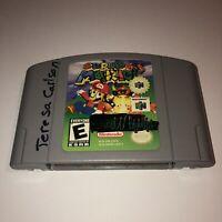 DISCOUNTED Nintendo 64 N64 Game SUPER MARIO 64 Fun Tested Works Great Fun