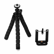 Universal Flexible Trípode Base Soporte Set para Nikon Canon iPhone Cámara