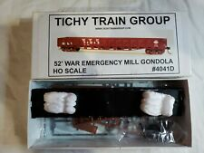 New ListingTichy Trains Ho Scale War Emer Gondola Undecorated With Decals #4041D