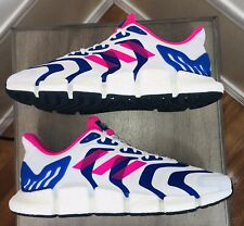 New Men's Adidas CLIMACOOL VENTO Running Shoes, White Blue Pink, FX4730, Size 13