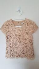 JCrew Lace Blouse Size 00