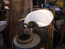 Lampe de Bureau en Laiton et Verre