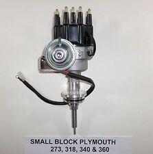 PLYMOUTH Small Block 273-318-340-360 BLACK CAP HEI Distributor Ready-to-Run