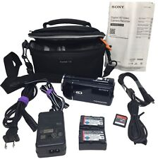 New ListingSony Hdr-Cx290 Digital Video Camera with Accessories and Manual