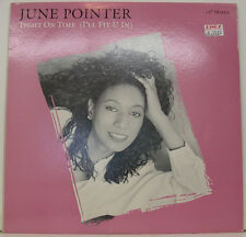 """JUNE POINTER - TIGHT ON TIME (I'LL FIT U IN) 12"""" MAXI SINGLE (h940)"""