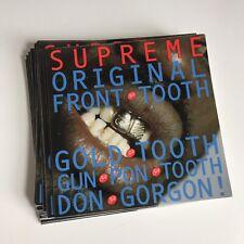 Supreme Tooth Sticker 100% AUTHENTIC SUPREME STICKER BOX LOGO