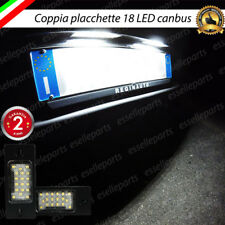PLACCHETTE A LED LUCI TARGA 18 LED SPECIFICHE AUDI TT 8J fino al 2009 6000K