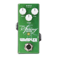 New Wampler Mini Faux Spring Reverb Guitar Effects Pedal!