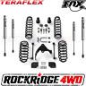"TeraFlex 2.5"" Lift Kit for 07-18 Jeep Wrangler JK 4 Door W/ FOX 2.0 IFP Shocks"