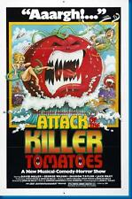 Attack Of The Killer Tomatoes Movie poster 24x36