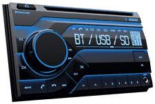 Planet Audio PB475RGB Double Din MP3/CD/AM/FM Receiver Bluetooth, Multi Color