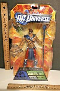 "DC UNIVERSE CLASSICS Wave 17 INDIGO LANTERN THE ATOM #4 Mattel 6"" BAF 2010 NIP"
