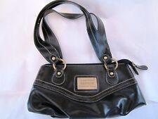 Sac à main KINGSTON - Petit sac à main aspect cuir noir (1801025)
