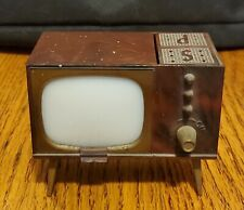 Vintage Console Tv Salt and Pepper Shaker Set