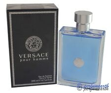 VERSACE POUR HOMME BY VERSACE 6.7/6.8 OZ EDT SPRAY FOR MEN NEW IN BOX