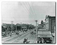 Washington Street Looking West From 2nd 1910 Old Arizona City Art Print (16x20)