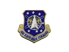 Stargate SG1 ecusson avec scratch Air Force Space Command AFSC patch hook loop