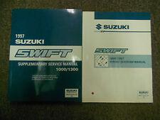 1997 Suzuki Swift Supplementary Wiring Service Repair Shop Manual FACTORY SET 97