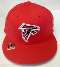 NFL Atlanta Falcons Reebok Flat Visor Flex Cap Hat OSFA NEW!